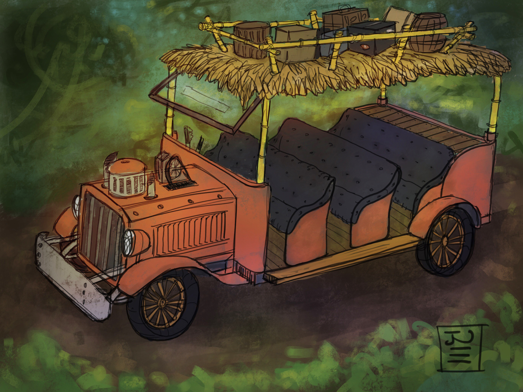 Tarzan Ride Concept: Vehicle Design